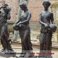 西方人物雕塑加工-人物雕塑价格-文禄