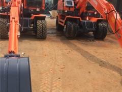 挖掘机平板车