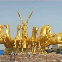 济宁雕塑制作 动物雕塑 人物雕塑 城市雕塑定做