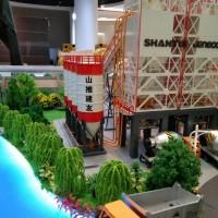 济宁厂房沙盘模型制作厂家   济宁大型工业沙盘模型定做电话