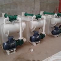 耐酸耐碱耐腐蚀水喷射真空机组 卧式水箱冷凝盘管真空机组