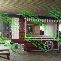游乐园零食纪念品售卖屋 超市木制蛋糕展示柜 厂家地铁售票亭