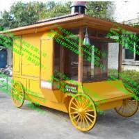 户外流动货架香洲木制小吃零食售卖屋 儿童公园玩具饰品售卖亭