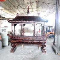 铜香炉_仿古青铜器铸造_河北志彪雕塑厂