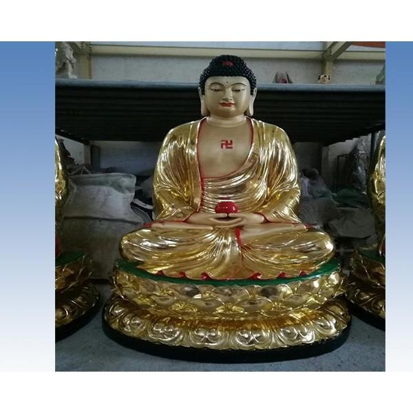 铜佛像_河北志彪雕塑公司供应各种铜佛像
