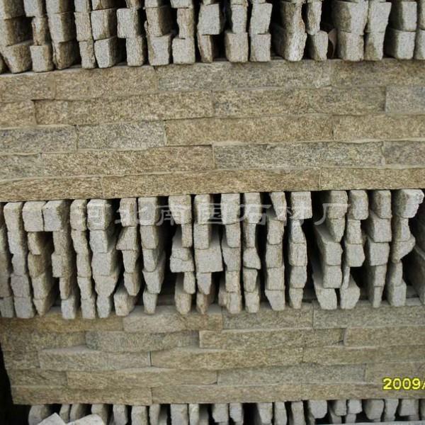 芝麻黄板岩胶粘文化石-文化石-砂石网贴