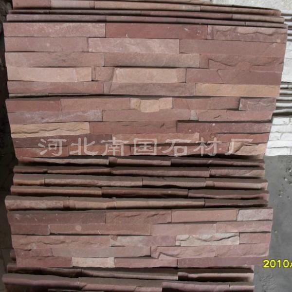 高粱红胶粘文化石-河?#22791;?#31921;红胶粘文化石
