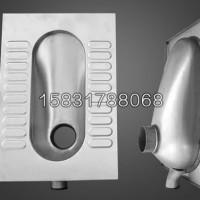 循环水厕所用不锈钢蹲式马桶 XKD-807脚踏式不锈钢蹲坑