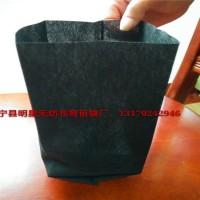 黑色无纺布育苗营养袋透气透水成活率高