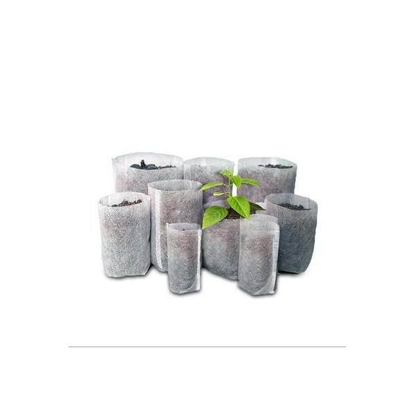 工厂价直销环保可降解透气自吸水无纺布育苗营养袋