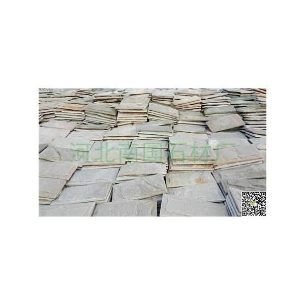 芝麻黄蘑菇石-?#28082;?#29577;蘑菇石-白木纹板岩蘑菇石