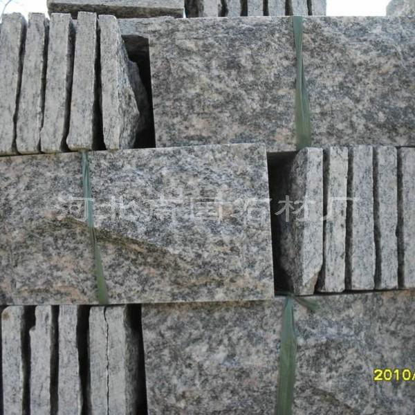 河北白石英板岩蘑菇石-黄木纹蘑菇石厂家批发