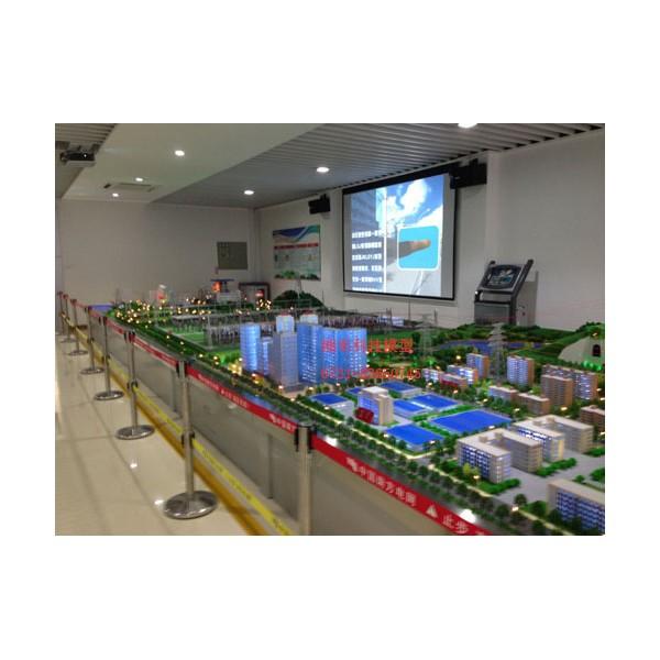 火力發電沙盤模型 為廣東電網電力局制作設計