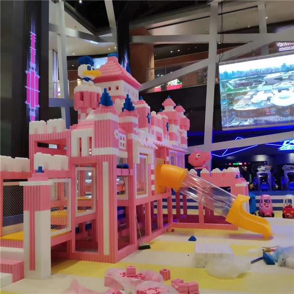 浙江EPP積木城堡生產廠家 溫州EPP積木城堡廠家價格