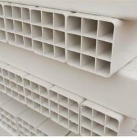 供应山西PVC九孔格栅管,七孔梅花管厂家,规格齐全