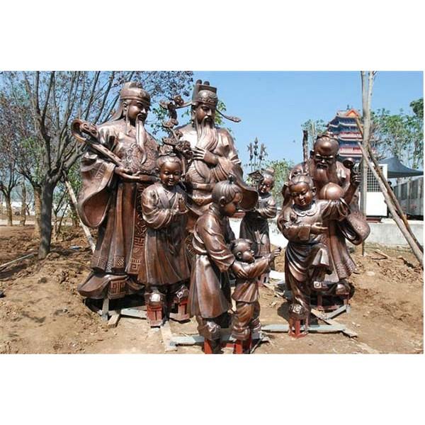 道教神像_銅雕神像鑄造_河北文祿銅雕