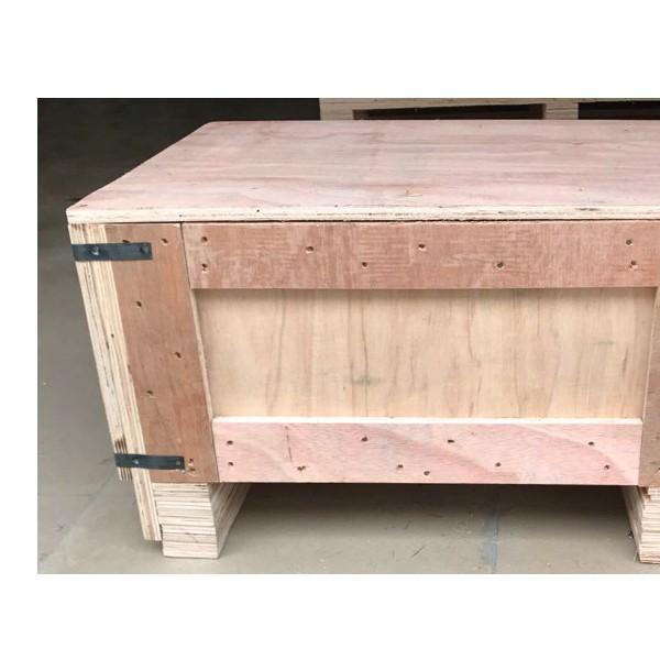 定制各種環保木箱 可拆卸的鋼帶箱 出口免檢疫木箱