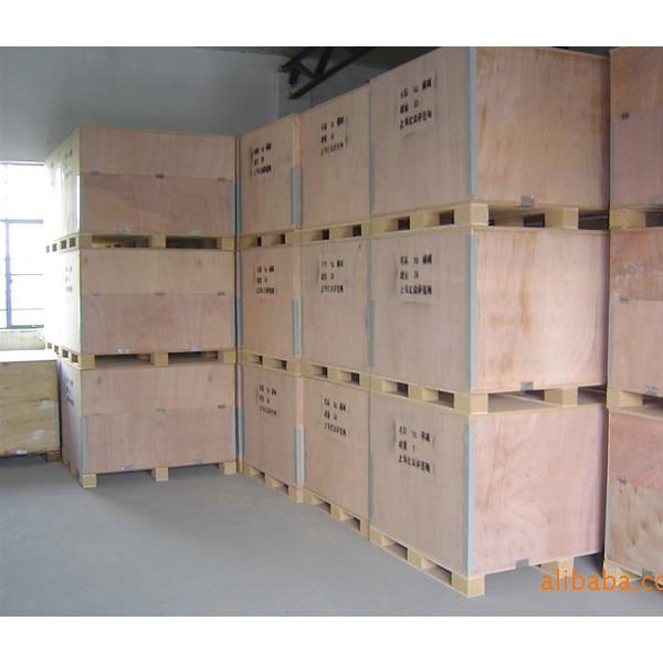 特质设备运输专业箱 可拆卸的钢带木箱 电梯设备专用运输箱