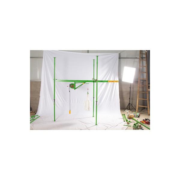 室内小型吊机批发-东弘起重-单相楼房吊装型小吊机批发