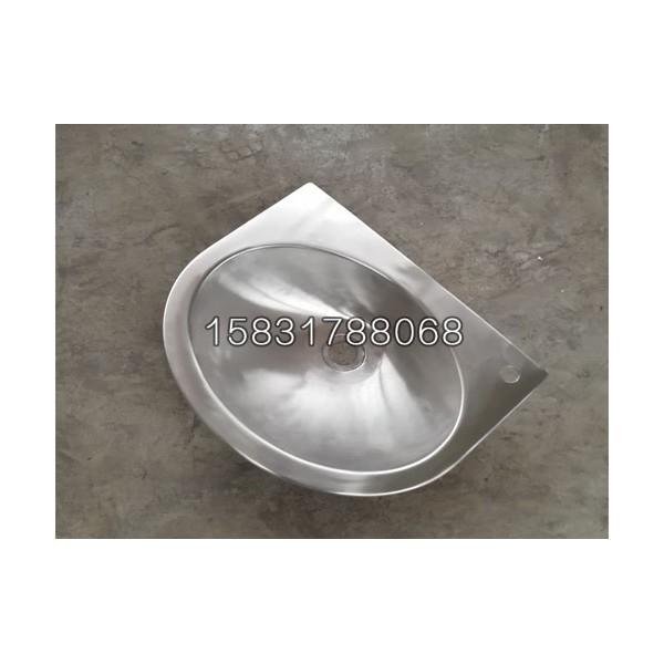 新品布局锈钢洗手盆 公厕用不锈钢台下盆