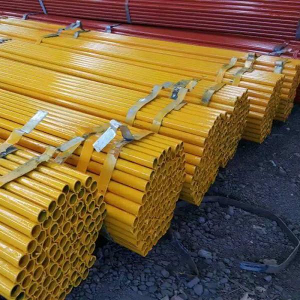 邵阳架子管 Q235黄红油漆架管生产厂家