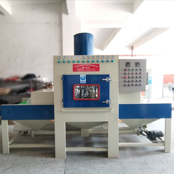 中山噴砂機 噴粉掛具翻新除銹自動噴砂機