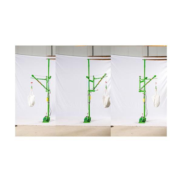 小型吊機廠家銷售-360度單臂旋轉自鎖式小吊機-東弘起重