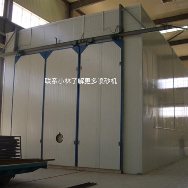 中山噴砂房廠家 小型簡易半自動噴砂房
