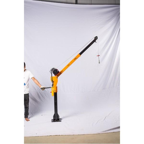 0.5吨车载小吊机价格-折叠式小型车载吊机-东弘起重