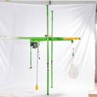 小窗口家用直滑式小吊机-500公斤楼房小吊机快速使用