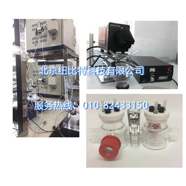 手动(自动)光解水制氢/二氧化碳制甲醇离线