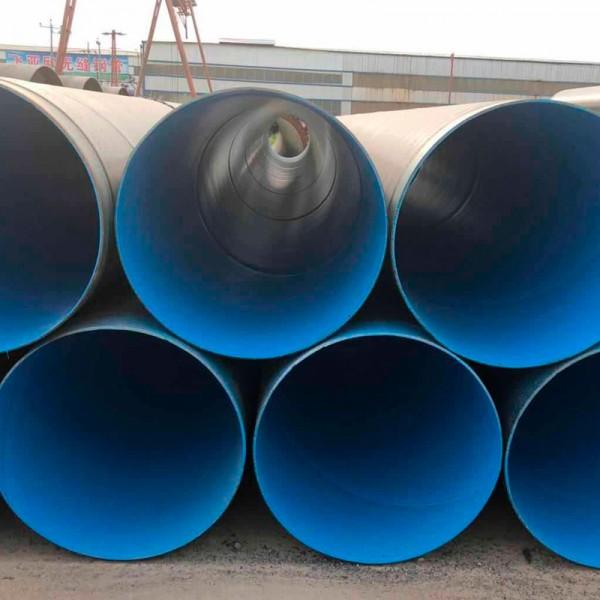 衡阳涂塑钢管厂家 排水用螺旋管 规格全