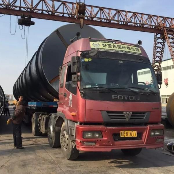 湖北江陵3pe防腐钢管厂家 输水用螺旋钢管