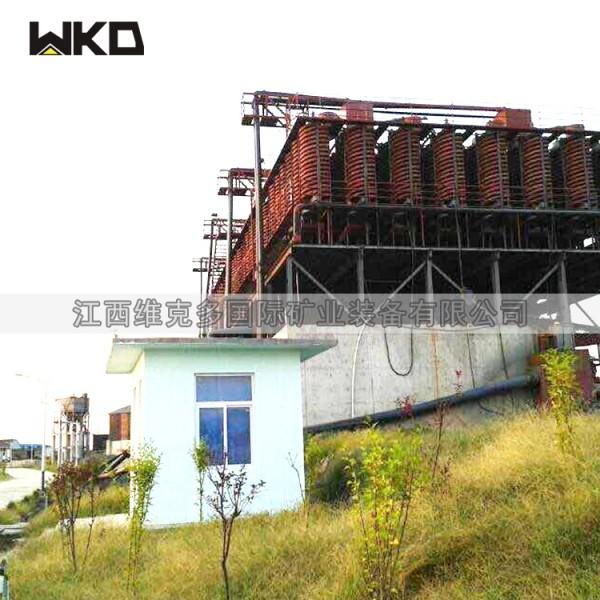 玻璃鋼選礦螺旋溜槽 全套重選選礦設備 選煤泥金礦螺旋溜槽