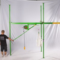 300公斤室内快速小吊机价格-室内简易吊机安装视频与步骤