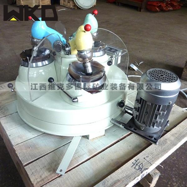 實驗研磨粉碎設備 XPM120*3三頭研磨機 瑪瑙研磨機價格