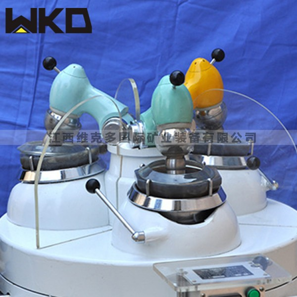 实验室用三头研磨机 玛瑙材质研磨机价格 矿石研磨粉碎万博manbetx手机版厂家