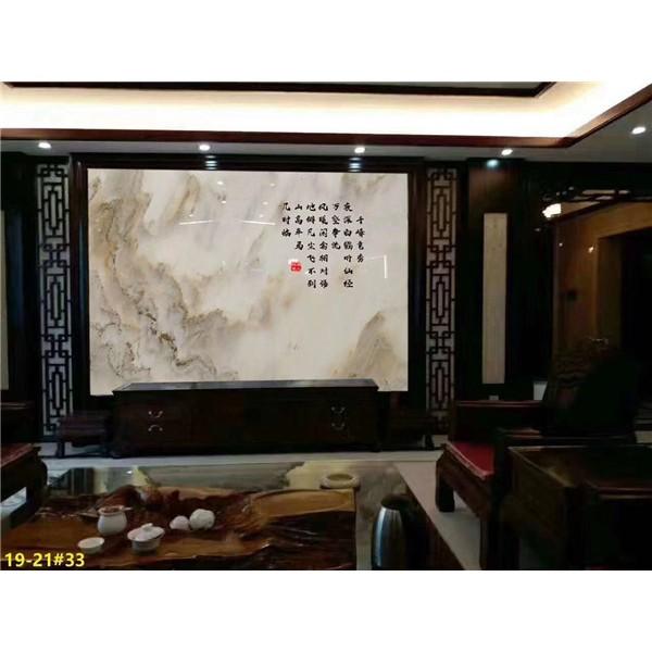宝兴县汉白玉背景墙石材生产厂家 四川汉白玉背景墙石材批发价格