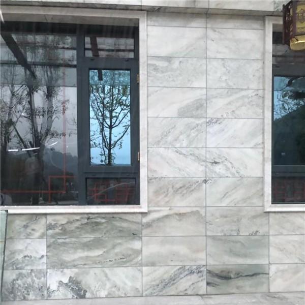 宝兴县汉白玉山水画石材生产厂家 四川汉白玉山水画石材批发价格