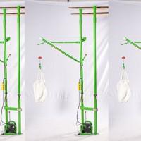 室内双立柱小吊机批发-升降式可调节式家用吊沙机-东弘起重