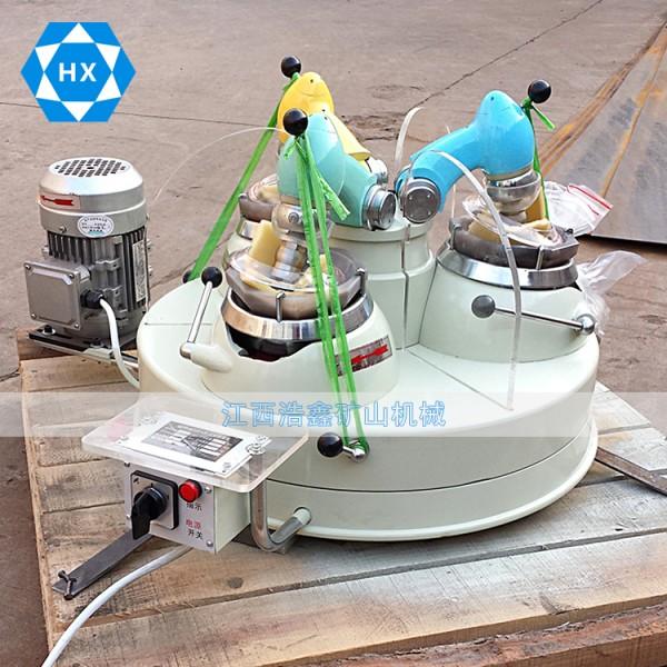 实验室研磨机 XPMΦ120×3三头研磨机化验制样精磨器厂家