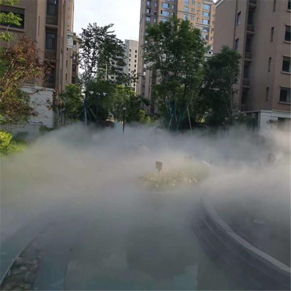 广州人造雾万博manbetx手机版主机供应商 喷泉水景水雾万博manbetx手机版厂家