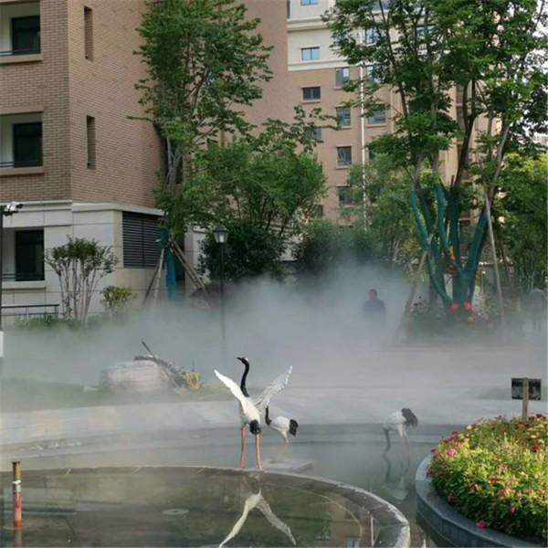 广州售楼部人造雾系统供应商 园林冷雾机组优质厂家