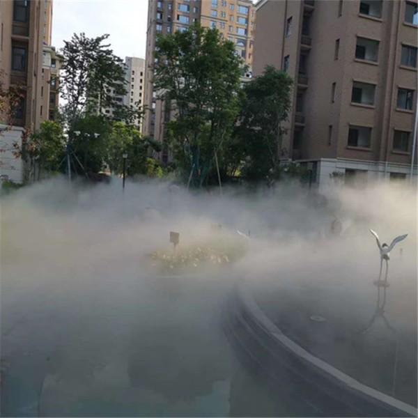 广州喷泉水雾万博manbetx手机版水景冷雾公司 水池人工喷雾造景万博manbetx手机版