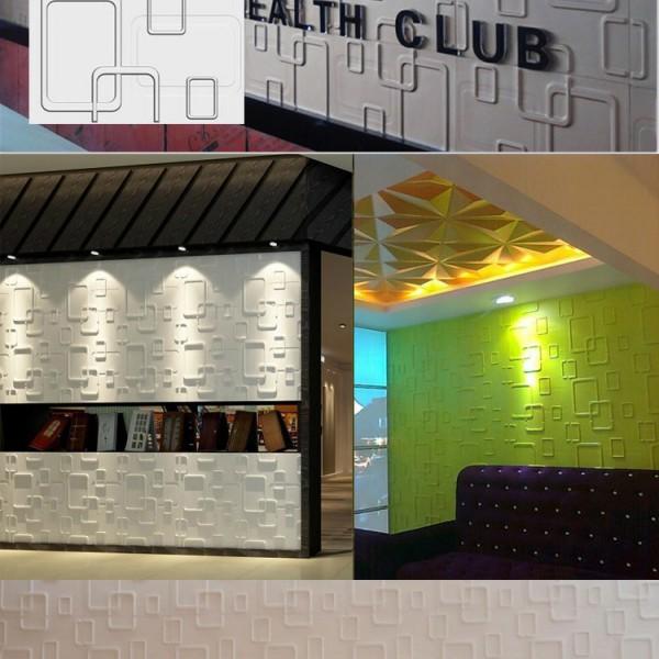 欢乐谷装饰板PVC文化石三维板接受定制各种款式颜色免费寄样