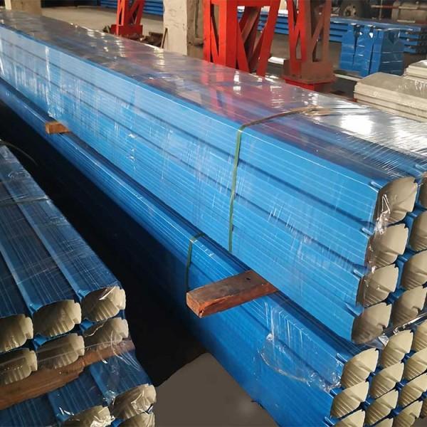 天津杜经理报价北京要货直供颜色任选彩钢雨水管彩钢落水管价格