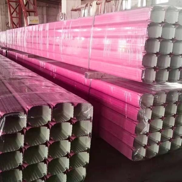 天津杜经理报价北京海淀要货直供颜色任选彩钢雨水管