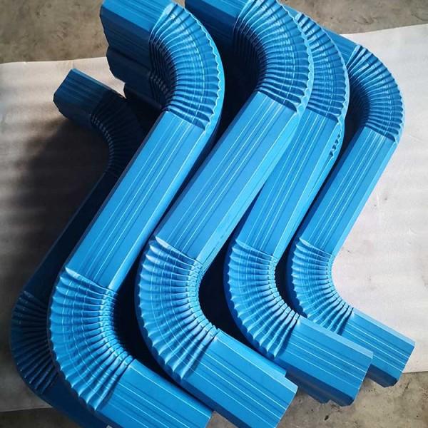 天津直供河南开封金属彩钢雨水管金属雨水管金属落水管配S弯头