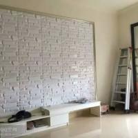 跨境6D立体彩色背景墙定制PVC文化石饭厅背景墙卧房城墙款