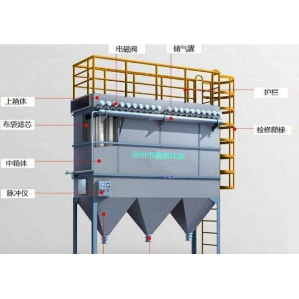 脉冲除尘器报价 布袋式收尘器 过滤集尘 设计定制